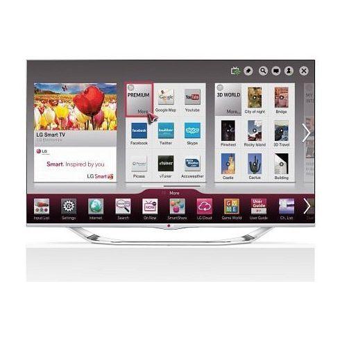 """LG 42LA740S Full HD 800Hz 3D SMART WiFi LED televízió 42"""" (106cm)"""