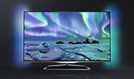 "Philips 42PFL5008K 3D Full HD 300Hz SMART LED televízió Ambilight 42"" (107cm)"