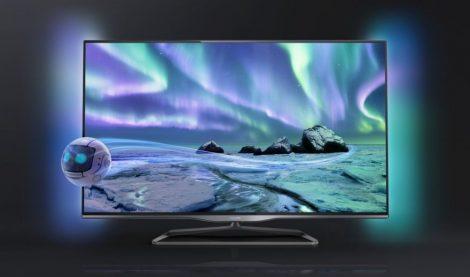 "Philips 42PFL5028K/12 Full HD 300Hz 3D Smart LED televízió Ambilight funkció 42"" (107cm)"