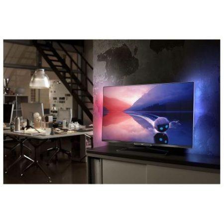"""Philips 42PFL6008K/12 Full HD 500Hz 3D Smart LED televízió Ambilight XL funkció 42"""" (107cm)"""