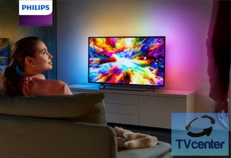 "Philips 43PUS7303/12 Smart Android 4K Ultra HD 3 Ambilight televízió, (43"" 108 cm)"