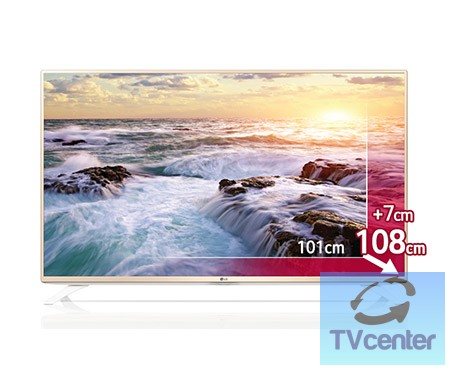 "LG 43UF6907 Ultra Hd SMART LED televízió 43"" (108cm)"