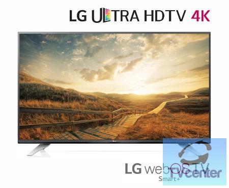 "LG 43UF7727 Ultra HD-4K webOS 2.0 SMART WiFi LED televízió 43"" (110cm)"