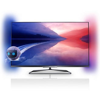 "Philips 47PFL7008K/12 Full HD 700Hz 3D Smart LED televízió Ambilight XL funkció 47"" (119cm)"