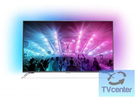 "Philips 49PUS7101 4K Ultra HD Slim LED TV, Android TV rendszerrel 49"" (124 cm)"