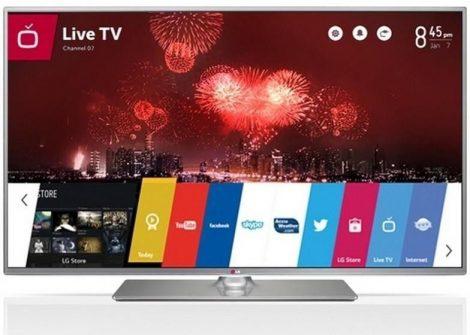 "LG 50LB650V Full HD 500Hz 3D webOS SMART WiFi LED televízió 50"" (127cm)"