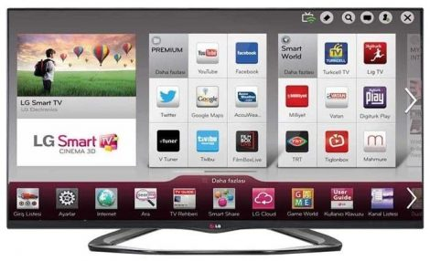 "LG 55LA660S Full HD 400 Hz 3D SMART WiFi LED televízió 55"" (139cm)"