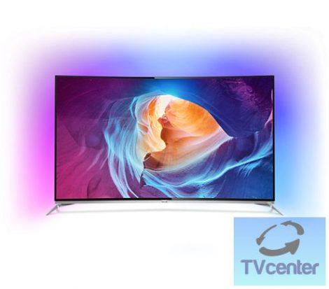 """Philips 55PUS8700/12 Ultra HD 4K ívelt LED TV Android rendszerrel 3 oldalas Ambilight, 55"""" (139 cm)"""