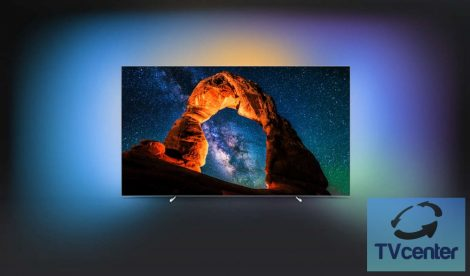 """Philips 55OLED803/12  OLED 8 series Pengevékony 4K UHD OLED Android TV 139 cm-es (55""""-es) Ambilight"""