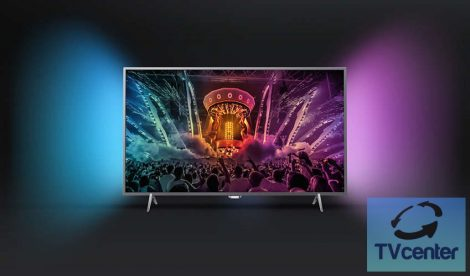 """Philips 55PUS6401/12 Ultra HD 4K Slim LED Android TV 55"""" (139cm)"""