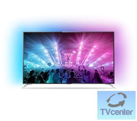 "Philips 75PUS7101/12 4K Ultra Slim LED, Android TV, 3-oldalas Ambilight rendszerrel 75""(189 cm)"