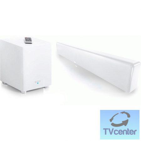 Canton DM 900 WHITE HGL Virtuális surround rendszer beépített FM tunerrel