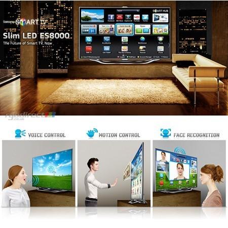 """Samsung UE40ES8000 Full HD 800Hz 3D LED SMART televízió 40"""" (102cm)"""