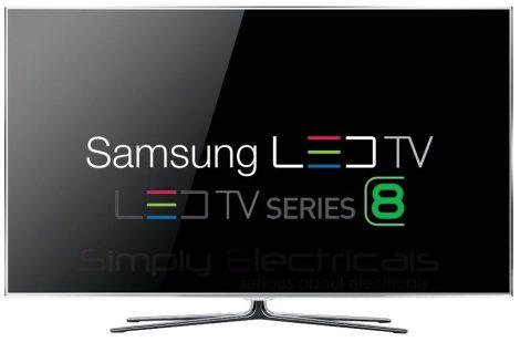 """Samsung UE55D8000 Full HD 3D LED LCD televízió 55"""" (140cm)"""