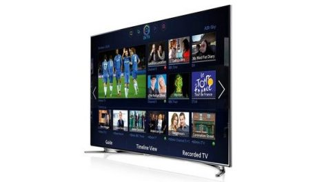 "Samsung UE55F8000 1200 Hz Full HD 3D Smart WiFi LED televízió 55"" (140cm)"