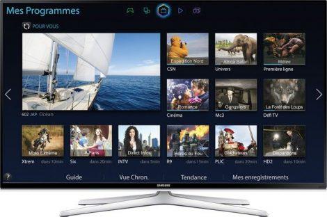 "Samsung UE48H6500 Full HD 400HZ 3D SMART WiFi LED televízió 48"" (121cm)"