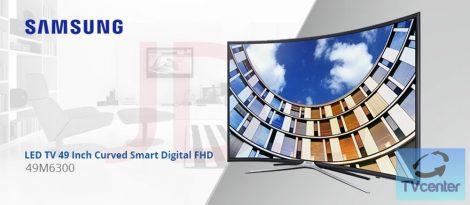 """Samsung UE49M6300 Full HD ívelt LED televízió 49"""" (124cm)"""
