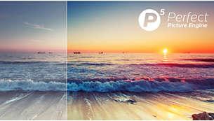 Philips P5 Engine. A jelforrás minőségétől függetlenül tökéletesíti a képet