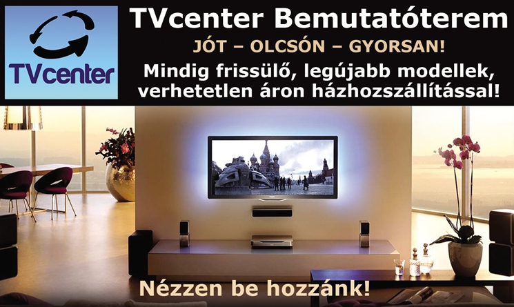 TVcenter Bemutatóterem