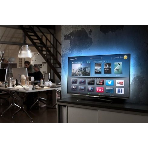 "Philips 42PFL7008K Full HD 700Hz 3D SMART LED televízió Ambilight XL funkció 42"" (107cm)"