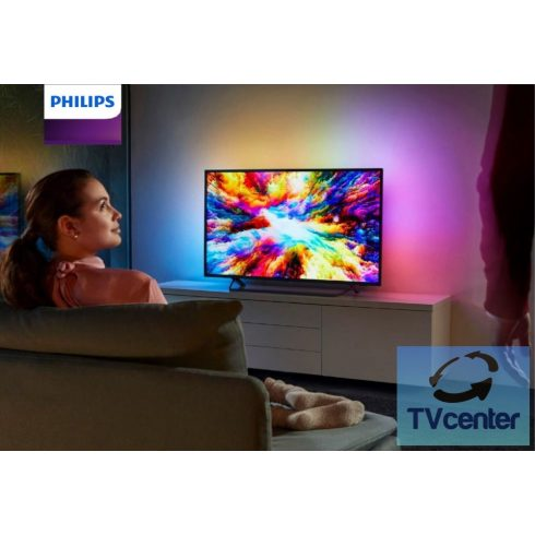"Philips 43PUS7303/12 Smart Android 4K Ultra HD 3 Ambilight televízió, (43"" 108 cm)"