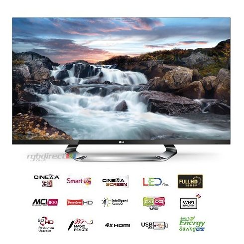 "LG 47LM760S Full HD 400 Hz 3D LED SMART televízió 47"" (117cm)"
