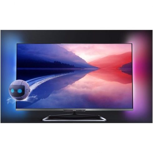 "Philips 55PFL6198K/12 Full HD 700Hz 3D Smart LED televízió Ambilight XL funkció 55"" (140cm)"