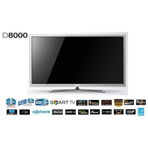 """Samsung PS64D8000 Full HD plazma 3D SMART televízió 64"""" (163cm)"""