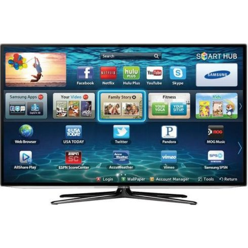"Samsung UE50ES6100 Full HD 200Hz LED LCD 3D SMART televízió 50"" (127 cm)"